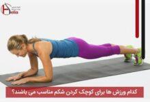 تصویر از کدام ورزش ها برای کوچک کردن شکم مناسب می باشند ؟